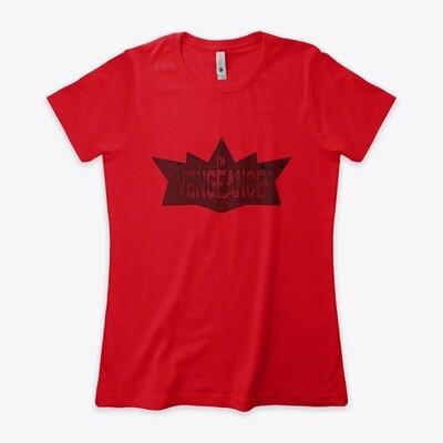 I'm Vengeance (THE BATMAN 2021) Women's Premium Boyfriend T-Shirt [CHOOSE COLOR]