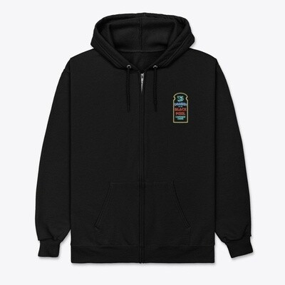 Dragon of the Black Pool (BIG TROUBLE IN LITTLE CHINA) Unisex Full Zip Hoody [CHOOSE COLOR] [CHOOSE SIZE]