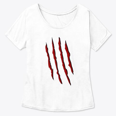 Freddy Krueger Slash (A Nightmare on Elm Street) Women's Premium Slouchy T-Shirt