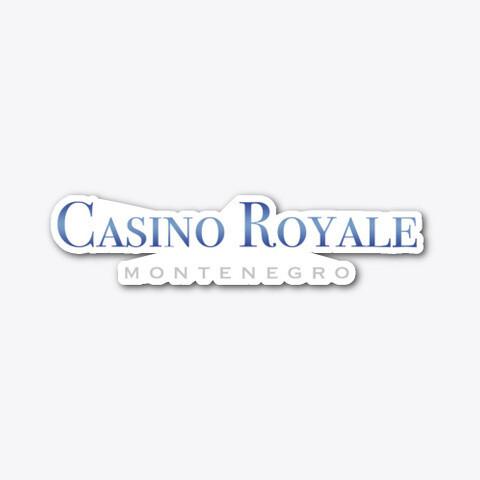 Casino Royale Montenegro [James Bond 007] Die-cut Vinyl Sticker [5 INCH]