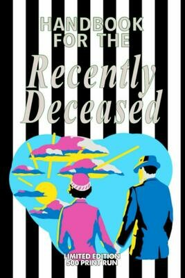 Handbook for the Recently Deceased [BETELGUESE EDITION - LIMITED TO 500 PRINT RUN WORLDWIDE] Luxury Lined Journal - Diary Notebook Writing Pad Book Movie Prop Replica Tim Burton Michael Keaton 80s
