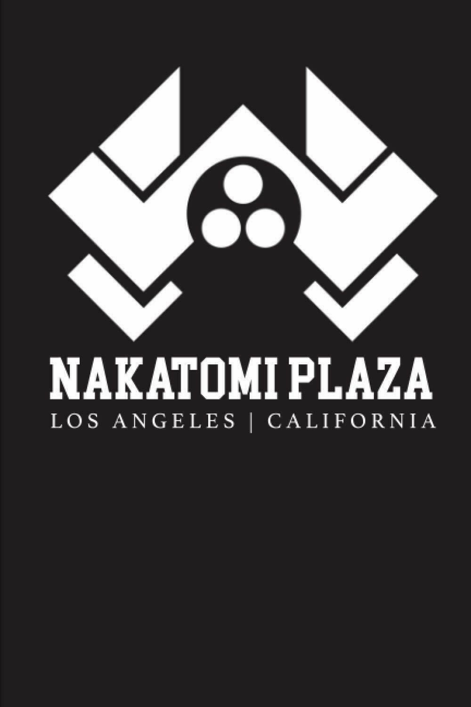 Nakatomi Plaza (Die Hard) Luxury Lined Journal - Diary Notebook Notepad Writing Pad Movie Prop Replica Action Nokatomi Nakatomi Towers McClane