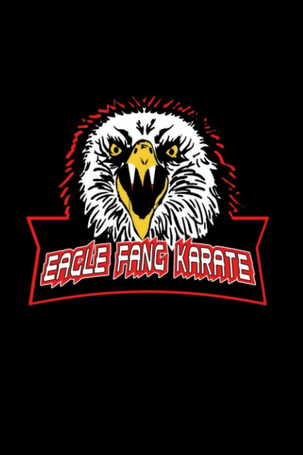 Eagle Fang Karate (Cobra Kai / Johnny Lawrence) Luxury Lined Journal - Notebook Diary Writing Pad Book Movie Prop Replica
