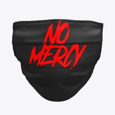 NO MERCY (Cobra Kai / The Karate Kid) Cloth Face Mask [CHOOSE COLOR]