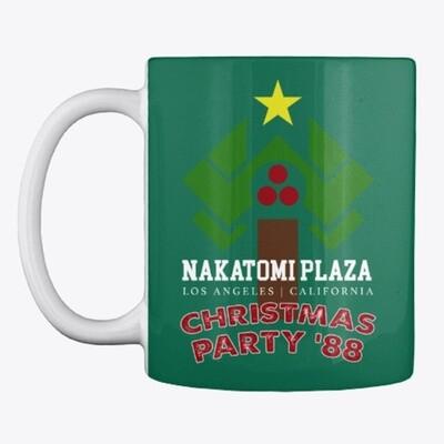 Nakatomi Plaza Christmas Party '88 (Die Hard) Ceramic Coffee Cup Mug [CHOOSE COLOR]