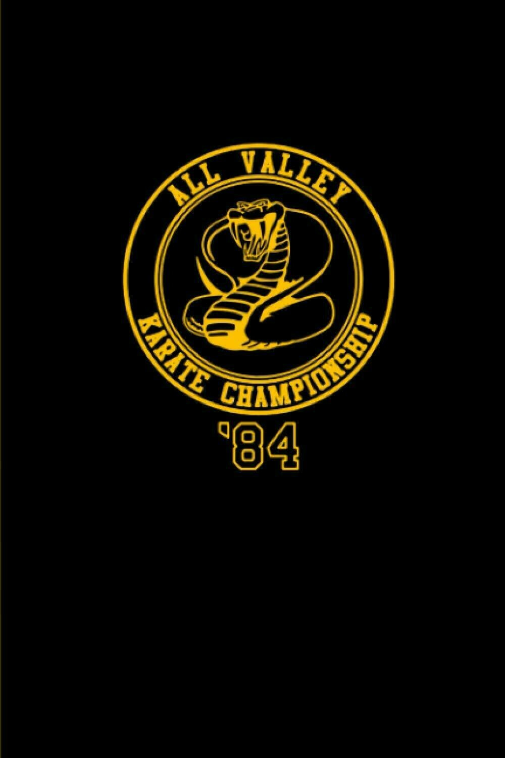 All Valley Karate Championship '84 (KARATE KID / COBRA KAI) Luxury Lined Notebook - Journal Diary Writing Paper Pad Movie Prop Replica
