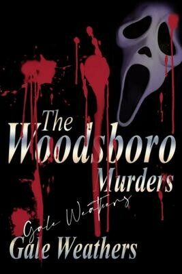 The Woodsboro Murders [Signed by Gale Weathers] (SCREAM) Luxury Lined Notebook - Journal Diary Writing Paper Note Pad Movie Prop Replica