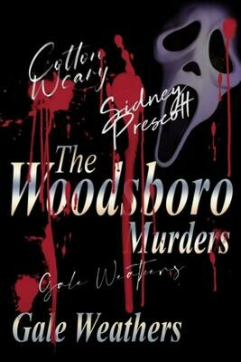 The Woodsboro Murders [Signed by all characters] (SCREAM) Luxury Lined Notebook - Journal Diary Writing Paper Note Pad Movie Prop Replica