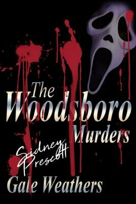 The Woodsboro Murders [Signed by Sidney Prescott] (SCREAM) Luxury Lined Notebook - Journal Diary Writing Paper Note Pad Movie Prop Replica
