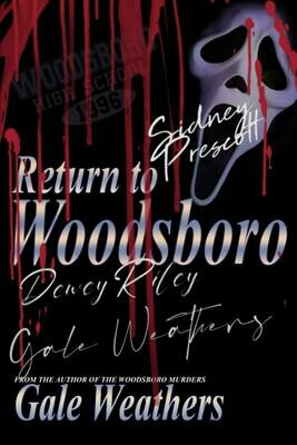Return to Woodsboro [Signed by all characters] (SCREAM) Luxury Lined Notebook - Journal Diary Writing Paper Note Pad Horror Movie Prop Replica