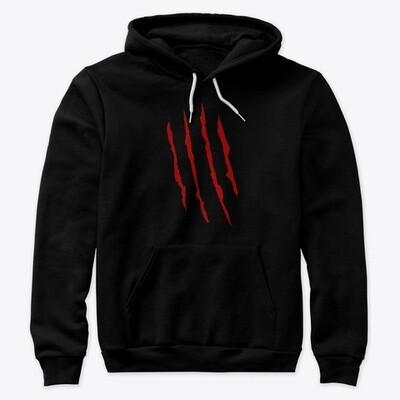 Freddy Krueger Slash (A Nightmare on Elm Street) Unisex Premium Pullover Hoody [CHOOSE COLOR] [CHOOSE SIZE]