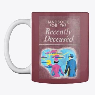 Handbook for the Recently Deceased (BEETLEJUICE) Ceramic Coffee Mug