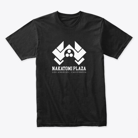 Nakatomi Plaza (Die Hard) Men's Premium T-Shirt [CHOOSE COLOR] [CHOOSE SIZE]