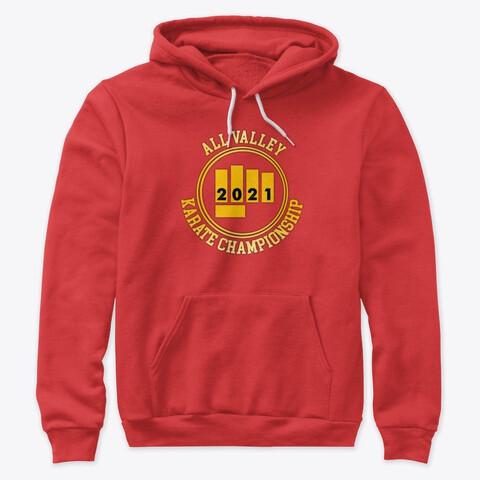 All Valley Karate Championship 2021 (Cobra Kai) Unisex Premium Pullover Hoody [CHOOSE COLOR] [CHOOSE SIZE]