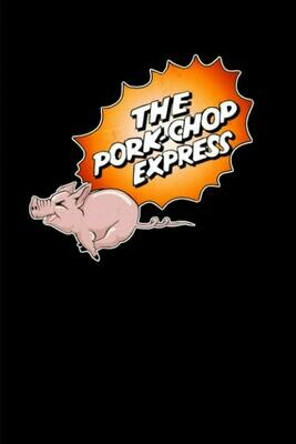 The Pork Chop Express (Jack Burton - Big Trouble in Little China) Luxury Lined Notebook - Journal Diary Writing Notepad Paper John Carpenter Movie Prop Replica