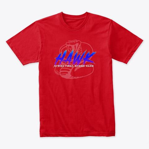 HAWK (Cobra Kai) Men's Premium Cotton T-Shirt [CHOOSE COLOR] [CHOOSE SIZE]