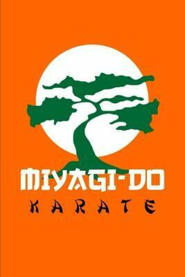 Miyagi Do Karate Dojo (Cobra Kai / Karate Kid) Luxury Lined Notebook - Journal Diary Writing Paper Note Pad Book Movie Prop Replica Netflix