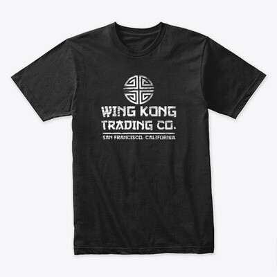Wing Kong Trading Co (Big Trouble in Little China) Men's Premium Cotton T-Shirt [CHOOSE COLOR] [CHOOSE SIZE]