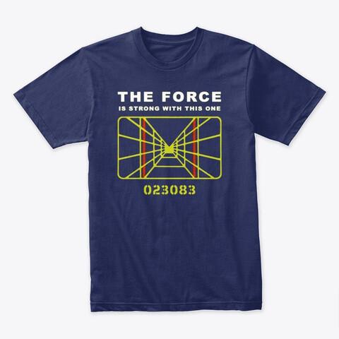 The Force; Target Death Star (STAR WARS) Men's Premium Cotton T-Shirt [CHOOSE COLOR] [CHOOSE SIZE]