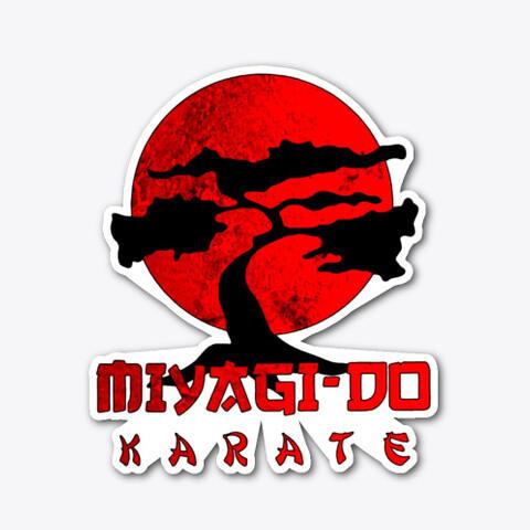 Miyagi Do Karate (COBRA KAI / THE KARATE KID) Vinyl Sticker [5 INCH]