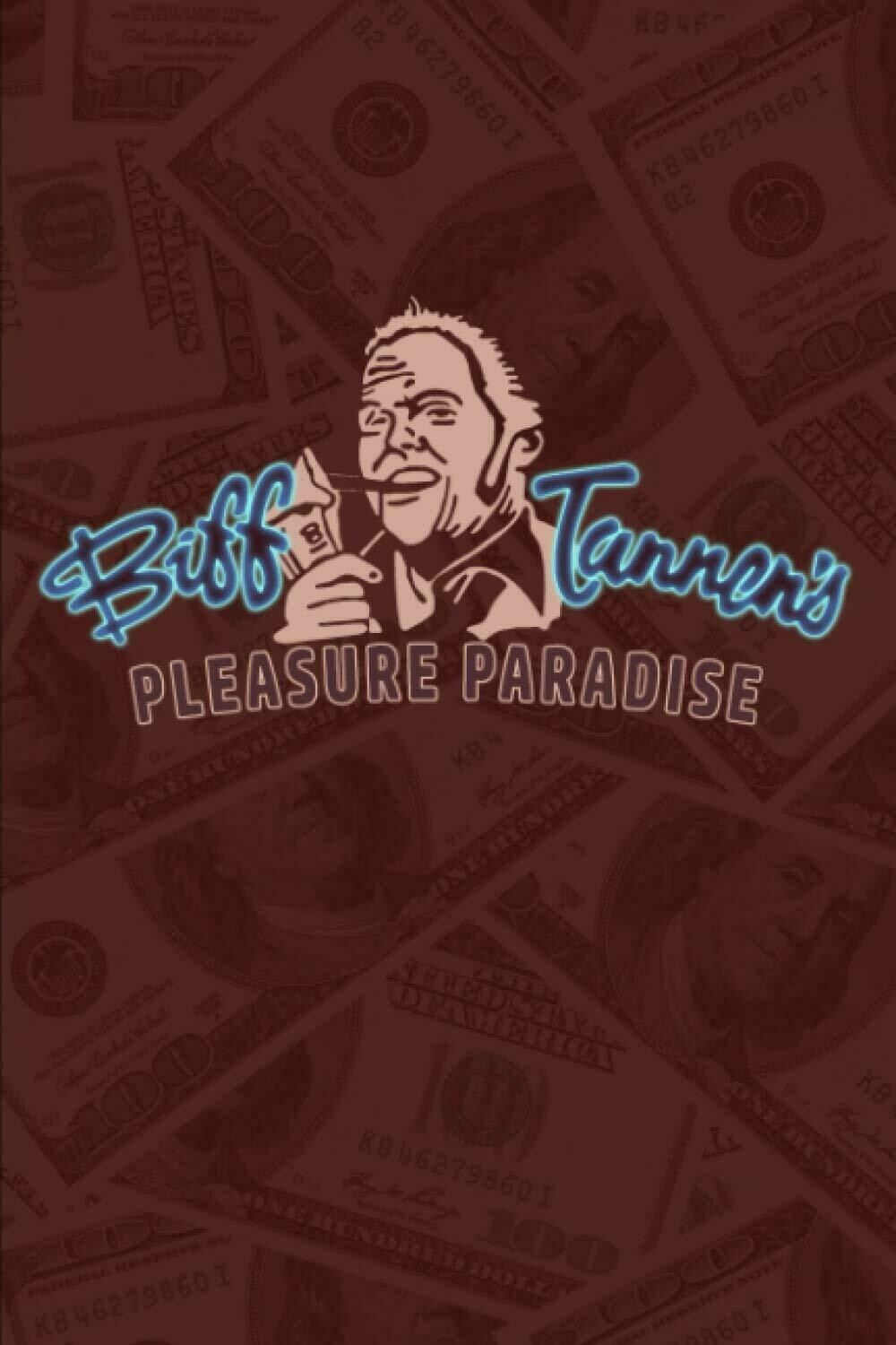 BIFF TANNEN'S PLEASURE PARADISE (Back to the Future) Luxury Lined Notebook - Journal Diary Writing Paper Note Pad Book Movie Prop Replica BTTF Part 2