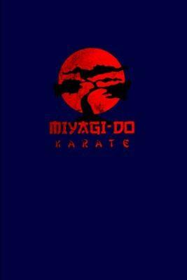 Miyagi Do Karate Dojo (Karate Kid / Cobra Kai) Luxury Lined Notebook - Journal Diary Writing Pad Notepad Paper Book Movie Prop Netflix