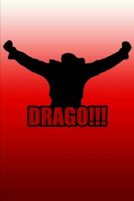 Drago!!! (ROCKY BALBOA) Luxury Lined Notebook - Journal Diary Writing Paper Note Pad Movie Book Prop Replica 80s Boxing