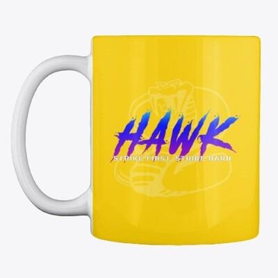 HAWK (Cobra Kai) Ceramic Coffee Mug Cup [CHOOSE COLOR]