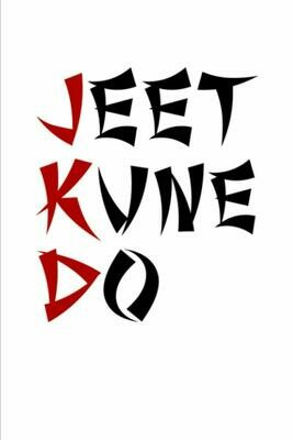 JDK Jeet Kune Do (Bruce Lee) Luxury Lined Notebook - Journal Diary Writing Paper Note Pad Book Martial Arts School Study MMA Office
