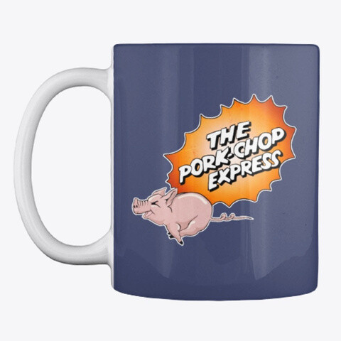 THE PORK CHOP EXPRESS (Big Trouble in Little China) Ceramic Coffee Cup Mug [CHOOSE COLOR]