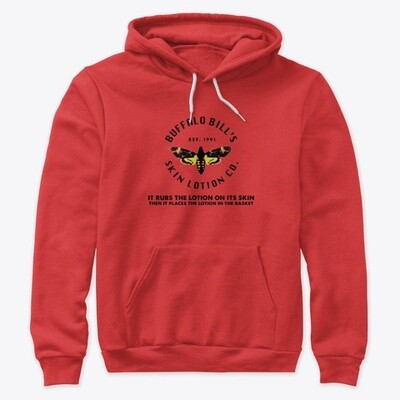 Buffalo Bill's Skin Lotion Co. (SILENCE OF THE LAMBS) Unisex Premium Pullover Hoody [CHOOSE COLOR] [CHOOSE SIZE]