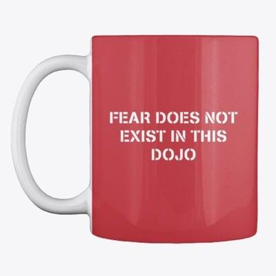 FEAR DOES NOT EXIST IN THIS DOJO (Cobra Kai / Karate Kid) Ceramic Coffee Mug [CHOOSE COLOR]