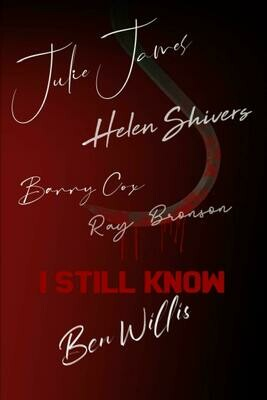 I STILL KNOW [Signed by Characters] (I Know What You Did Last Summer) Luxury Lined Notebook - Journal Diary Writing Paper Pad Book Horror Movie Prop Replica