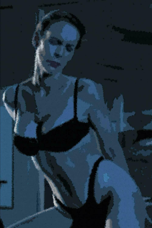 Suite Dance (TRUE LIES) Luxury Lined Notebook - Journal Diary Writing Paper Pad Movie Prop Replica Jamie Lee Curtis Arnold Schwarzenegger