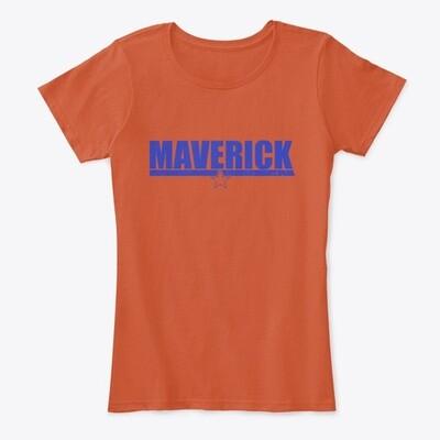 MAVERICK (Top Gun) Women's Premium Comfort T-Shirt [CHOOSE COLOR] [CHOOSE SIZE]