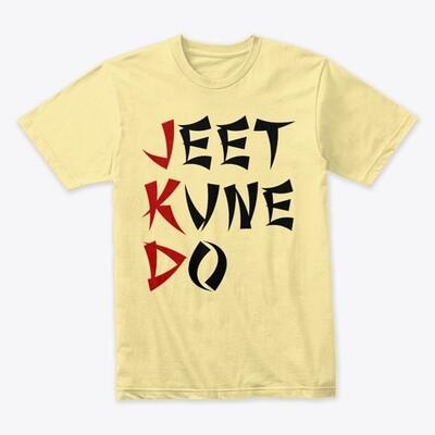 JEET KUNE DO (Bruce Lee) Men's Premium Cotton T-Shirt [CHOOSE COLOR] [CHOOSE SIZE]