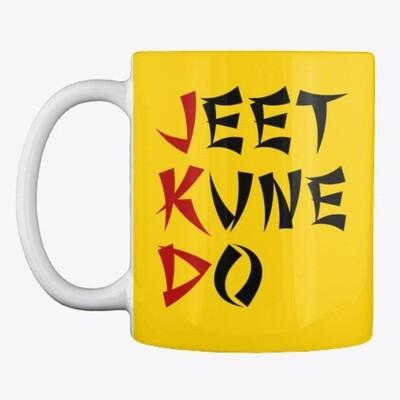 JEET KUNE DO (Bruce Lee) Ceramic Coffee Mug Cup [CHOOSE COLOR]
