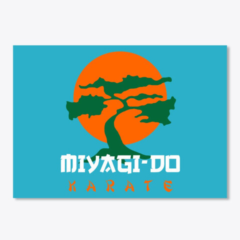 Miyagi Do Karate (Cobra Kai / Karate Kid) Sticker [5 x 7 INCHES]