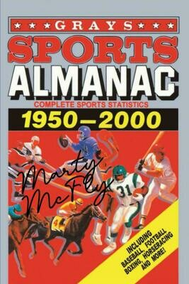 Grays Sports Almanac [Signed by Marty McFly] (BACK TO THE FUTURE) Luxury Lined Notebook - Journal Diary Movie Prop Writing Paper Pad