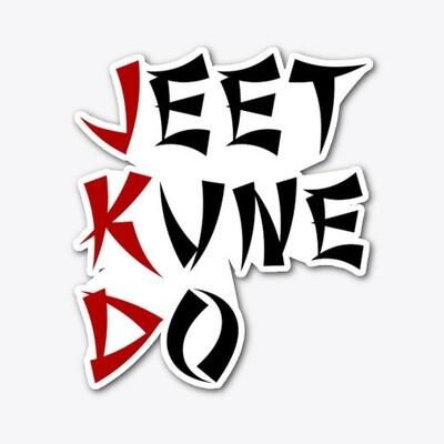 JEET KUNE DO (Bruce Lee) Vinyl Die-cut Sticker [5 INCH]