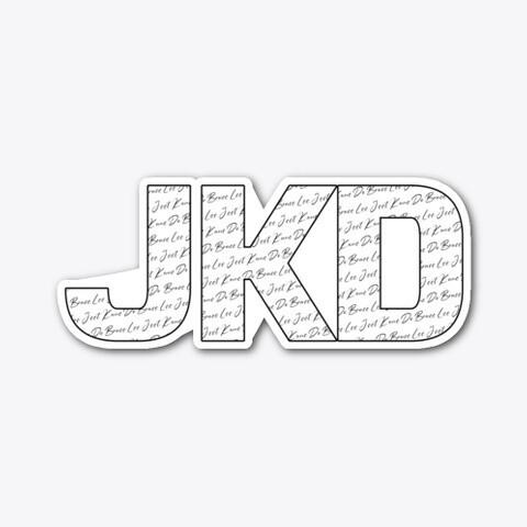 JKD JEET KUNE DO (Bruce Lee) Vinyl Die-cut Sticker [5 INCH]