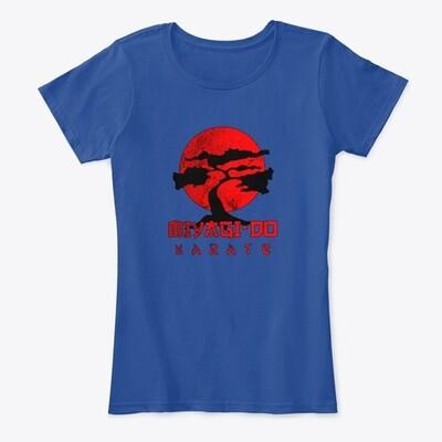 Miyagi Do Karate (COBRA KAI / THE KARATE KID) Women's Premium Comfort T-Shirt [CHOOSE COLOR] [CHOOSE SIZE]