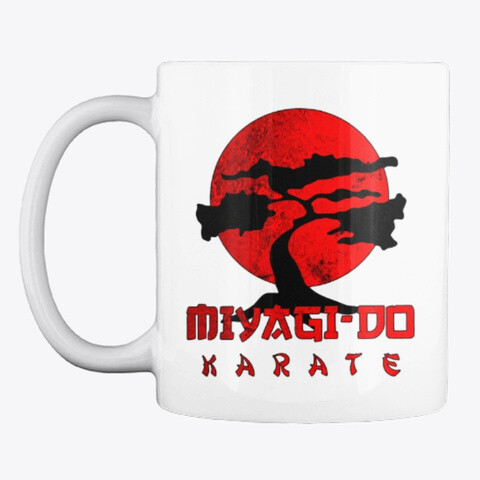 Miyagi Do Karate (COBRA KAI / THE KARATE KID) Ceramic Coffee Mug Cup [CHOOSE COLOR]