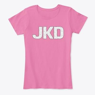 JKD JEET KUNE DO (Bruce Lee) Women's Premium Comfort T-Shirt [CHOOSE COLOR] [CHOOSE SIZE]