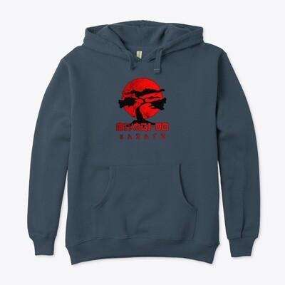 Miyagi Do Karate (COBRA KAI / THE KARATE KID) Unisex Premium Cotton Eco Pullover Hoody [CHOOSE COLOR] [CHOOSE SIZE]