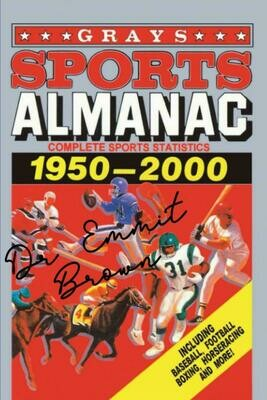 Grays Sports Almanac [Signed by Doc] (BACK TO THE FUTURE) Luxury Lined Notebook - Journal Diary Writing Paper Pad Movie Prop
