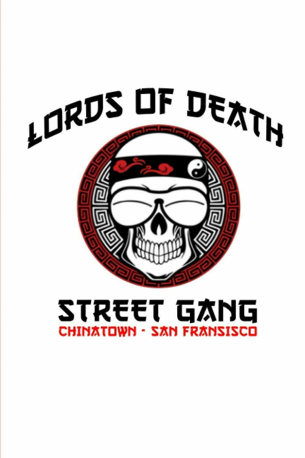 LORDS OF DEATH STREET GANG (Big Trouble in Little China / John Carpenter) Luxury Lined Notebook - Journal Diary Notepad Writing Paper Pad Movie Prop