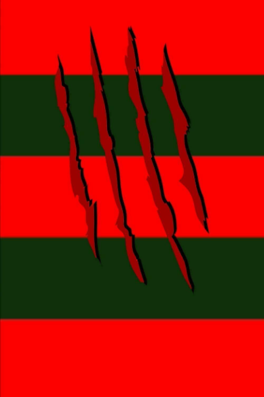 SPRINGWOOD SLASHER (Freddy Krueger / A Nightmare on Elm Street) Luxury Lined Notebook - Notepad Journal Diary Movie Prop Dream Diary