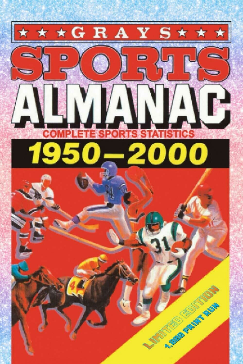 Grays Sports Almanac from Back to the Future [Rainbow Diamond Edition - LIMITED TO 1,000 PRINT RUN] Luxury Lined Journal Notebook Diary