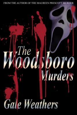 The Woodsboro Murders by Gale Weathers (SCREAM) Luxury Lined Notebook - Journal Diary Writing Paper Note Pad Horror Movie Prop Replica Ghostface Wes Craven Thriller Slasher